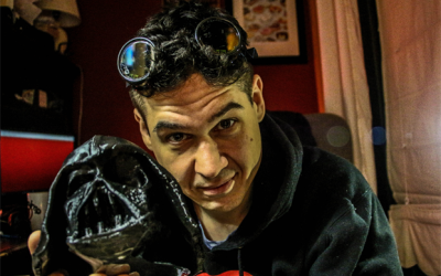 How to 3d Print and Model Darth Vaders Melted Mask